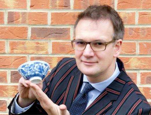 英国发现稀有中国清朝的文物 拍卖金额或近30万